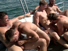 Skinny Dipping - Jizz Orgy