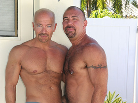 Max Dunhill and Jason Proud