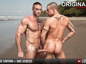 ake Genesis Fucks Jesse Santana on the Beach