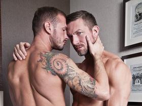 Passionate Bareback Fucking Featuring Husbands Tomas Brand and Logan Rogue