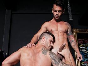 Adam Killian Gets a Workout on Adriano Carrascos Latin Cock