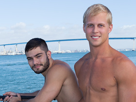 Tanner and Dusty - Bareback