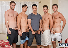 My Neighbours Son Part Four - Rafael Alencar Dylan Knight - Jack Radley - Zac Stevens and Johnny Rapid