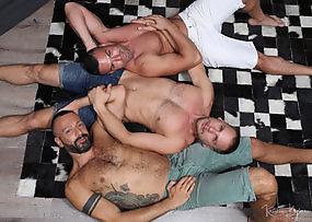 Meat Men - Ride Me - Hans Berlin Gabriel Lunna and Alberto Esposito