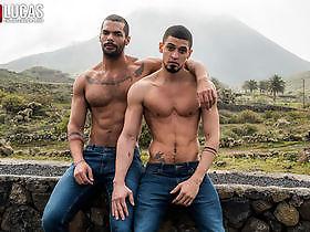 Ibrahim Moreno Takes Lucas Fox s Raw Uncut Cock