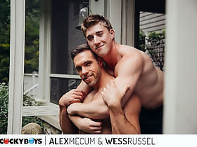Alex Mecum and Wess Russel RAW