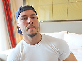 Marti Trifon - My hunky mate getting naked and getting off