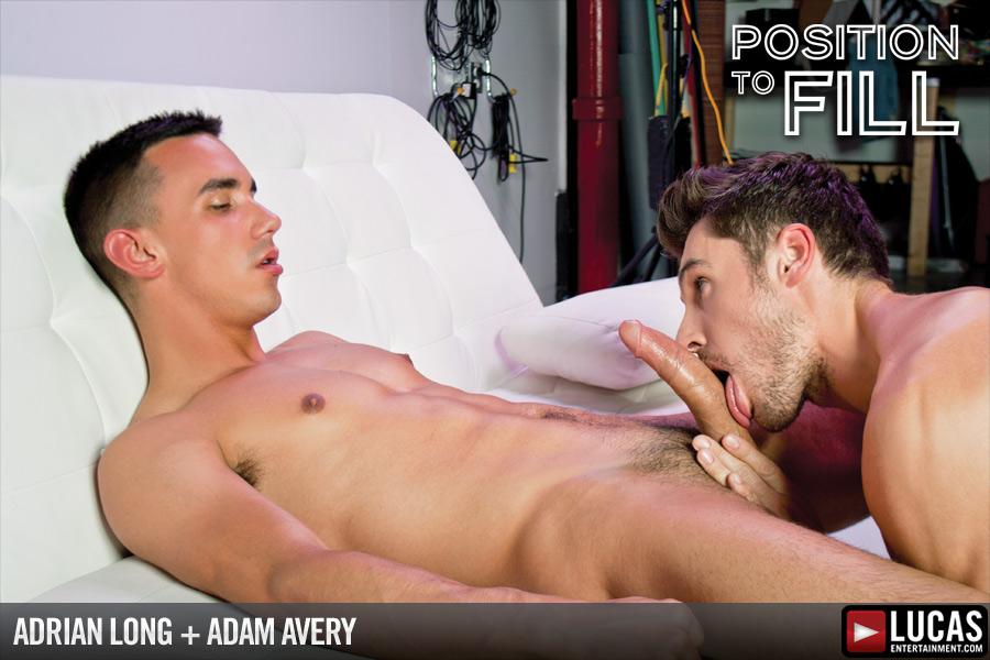 Adrian long adam avery hole position gay tube