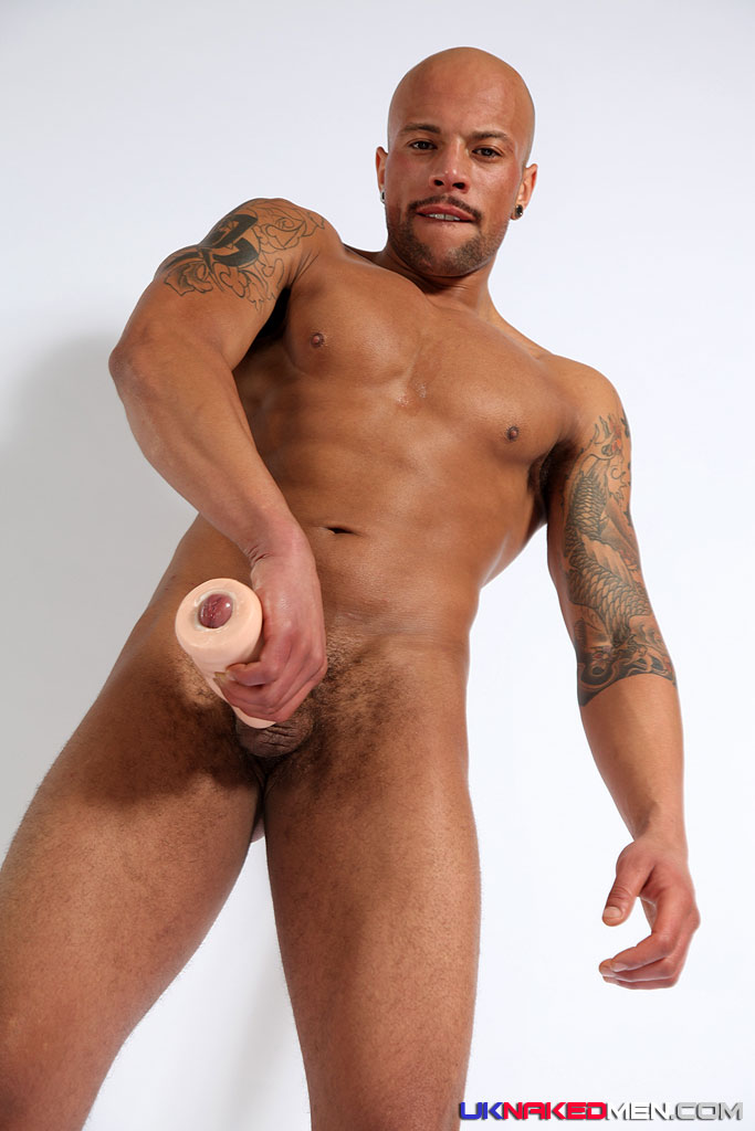 Know the Naked black stud Looking for