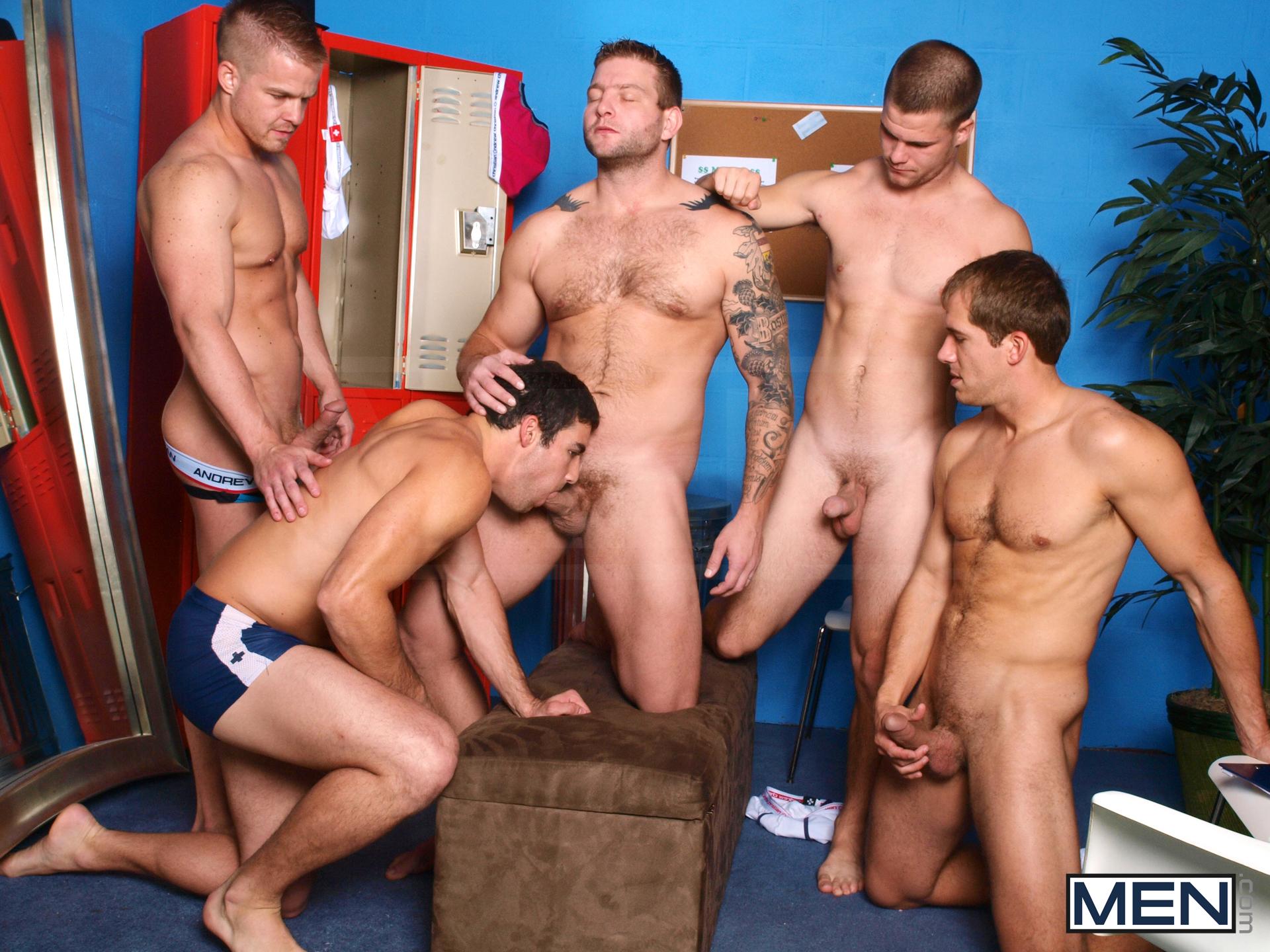 Orgy gay stripper