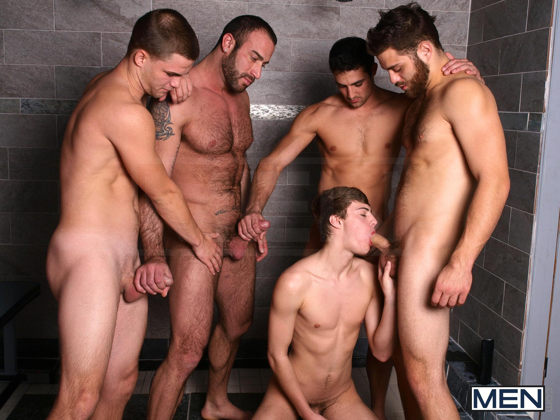 Секс онлайн гомосексуал оргия 25 фотография