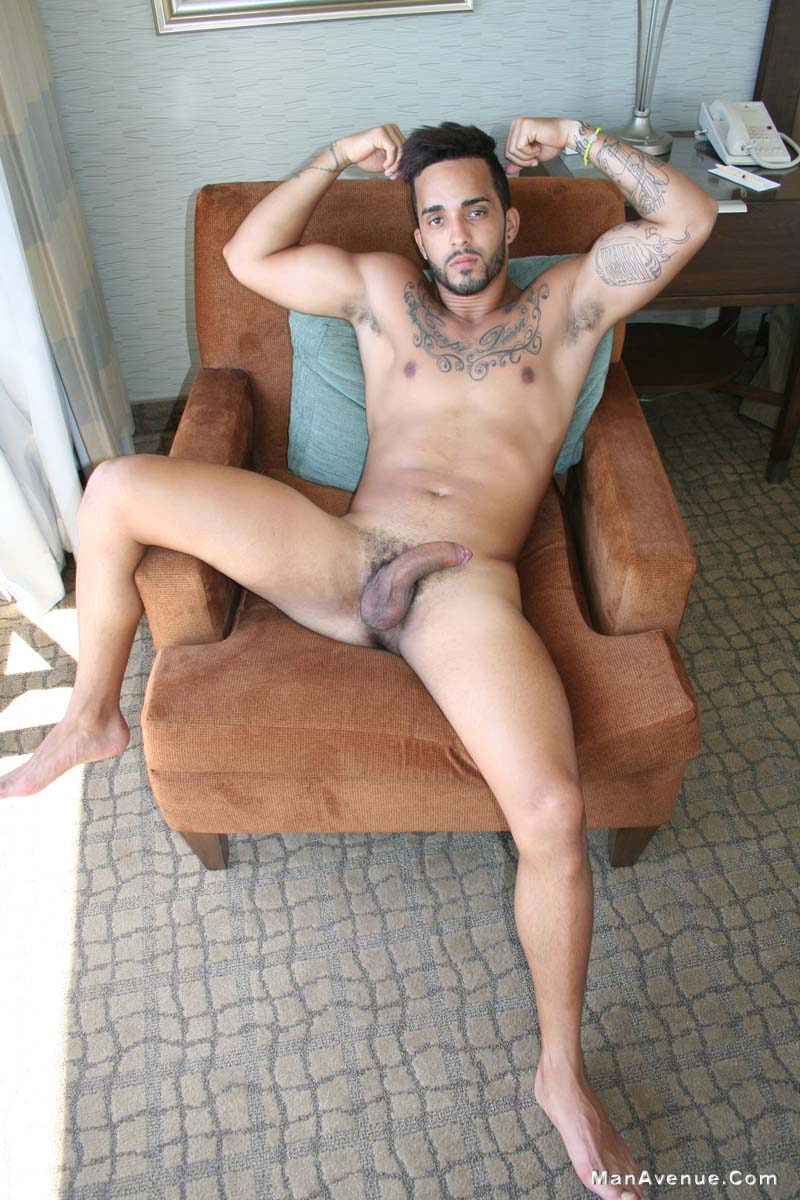 Handsome Stud Beating Off