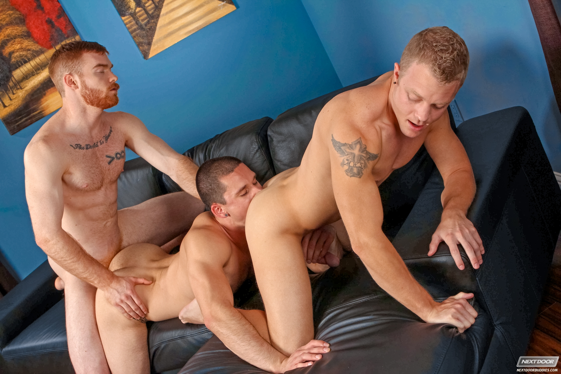Could next door buddies muscled kevin fireball long be the ginger of the year