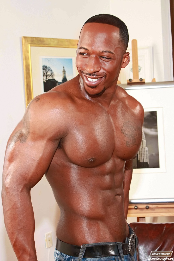 Are nacked black body builders think, that