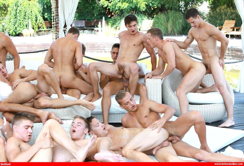 free gay orgy pics № 59063