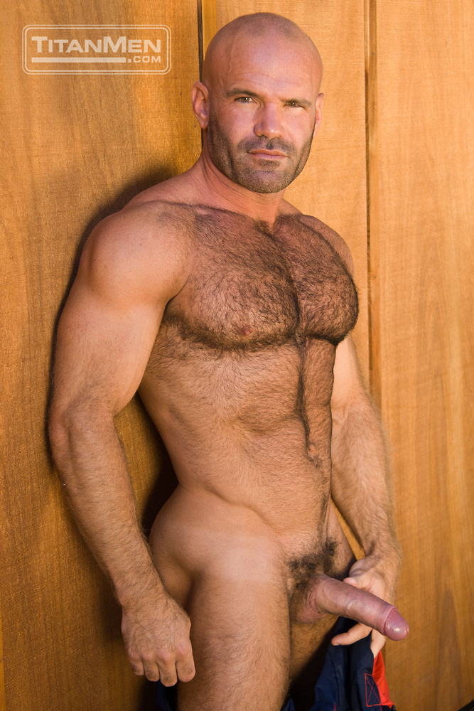 Hairy muscle nude afraid, that