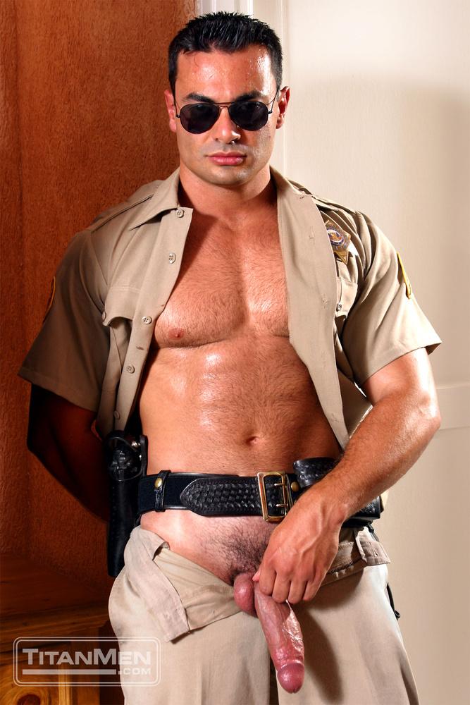 men in uniform having sex