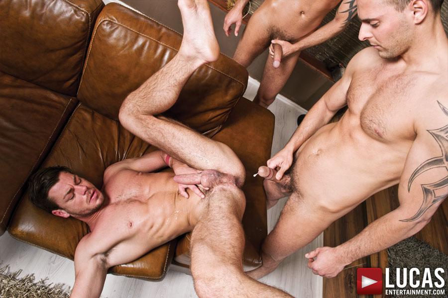 Bareback gay gang