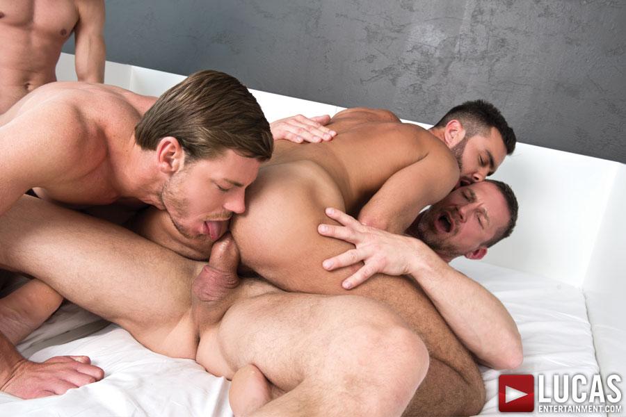 Tomas Brand and Fernando Torres Host a Raw Sex Orgy