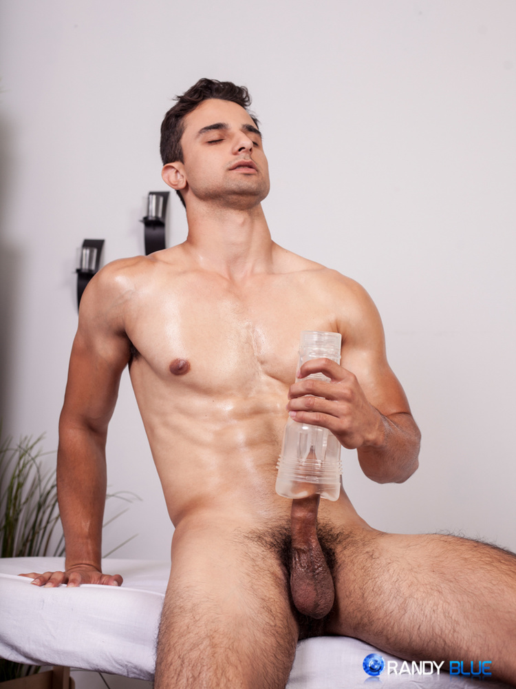 Sexy College Hunk Loves Himself