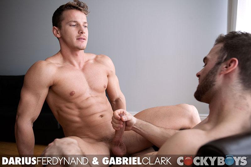 Darius ferdynand and gabriel clark hot gay porn
