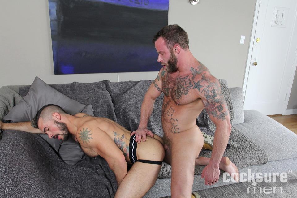 porno gej Derek Parker