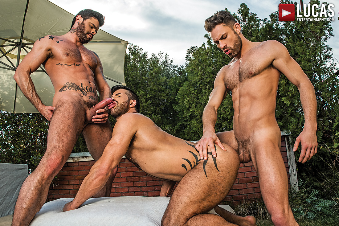 James Castle - Adam Killian - Mario Domenech | Raw Threesome