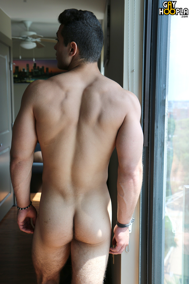 Sexy naked men butts