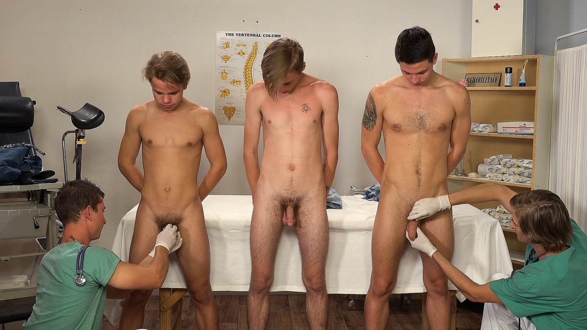 Wanking Party For Students