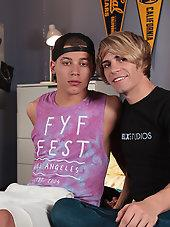 Kyle Ross and Corbin Colby