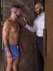 TAXMAN CUMETH - Eric Nero audits Tex Davidsons huge cock