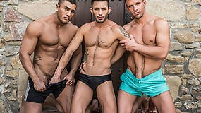 Brock Magnus and Andrey Vic Double Team Andy Star Raw