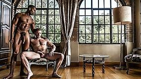SEAN XAVIER FUCKS BRIAN BONDS WITH HIS RAW BLACK COCK