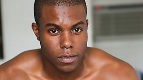 Black Muscular Guy Jaden