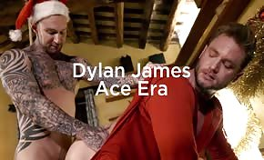 DYLAN JAMES COMES DOWN ACE ERA S CHIMNEY THIS CHRISTMAS