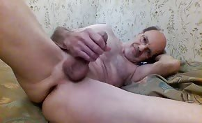 Edging my hard cock. A clip from a recent session